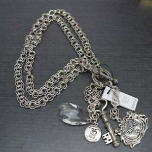 Chicos Limited 35th Anniversary Charm Necklace